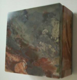 Шкатулка из натурального камня, 80-е г. ХХ в