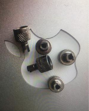 Колпачок на ниппель колеса металл.
