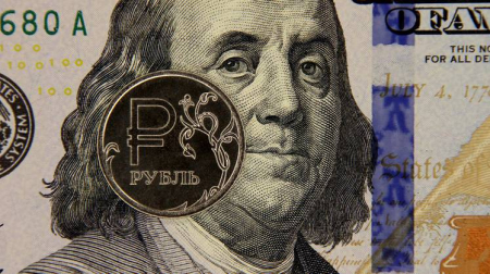 Доллар и евро снова растут, российский рубль дешевеет