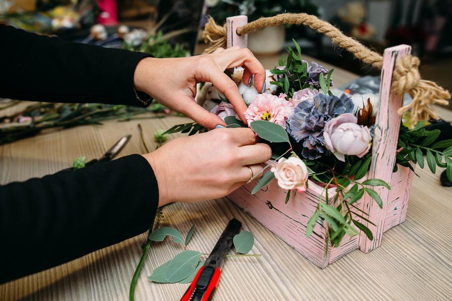 Флорист в картинках работа