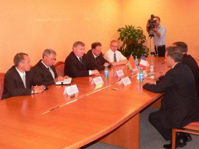 22 июня Бобруйск посетила делегация Посольства Франции в Республике Беларусь