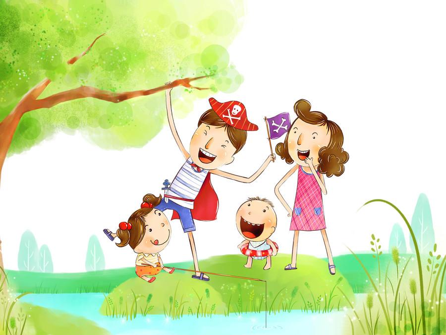 Марта цветами, открытки моя семья для детского сада