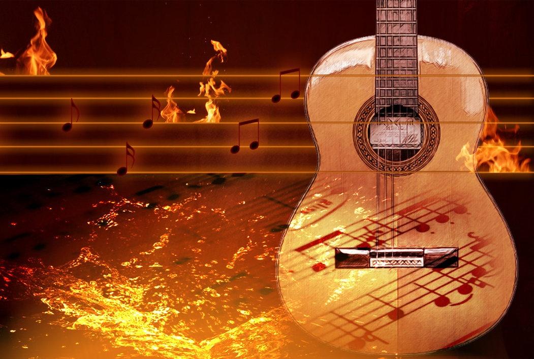 Открытки с гитарой с днём рождения мужчине 85