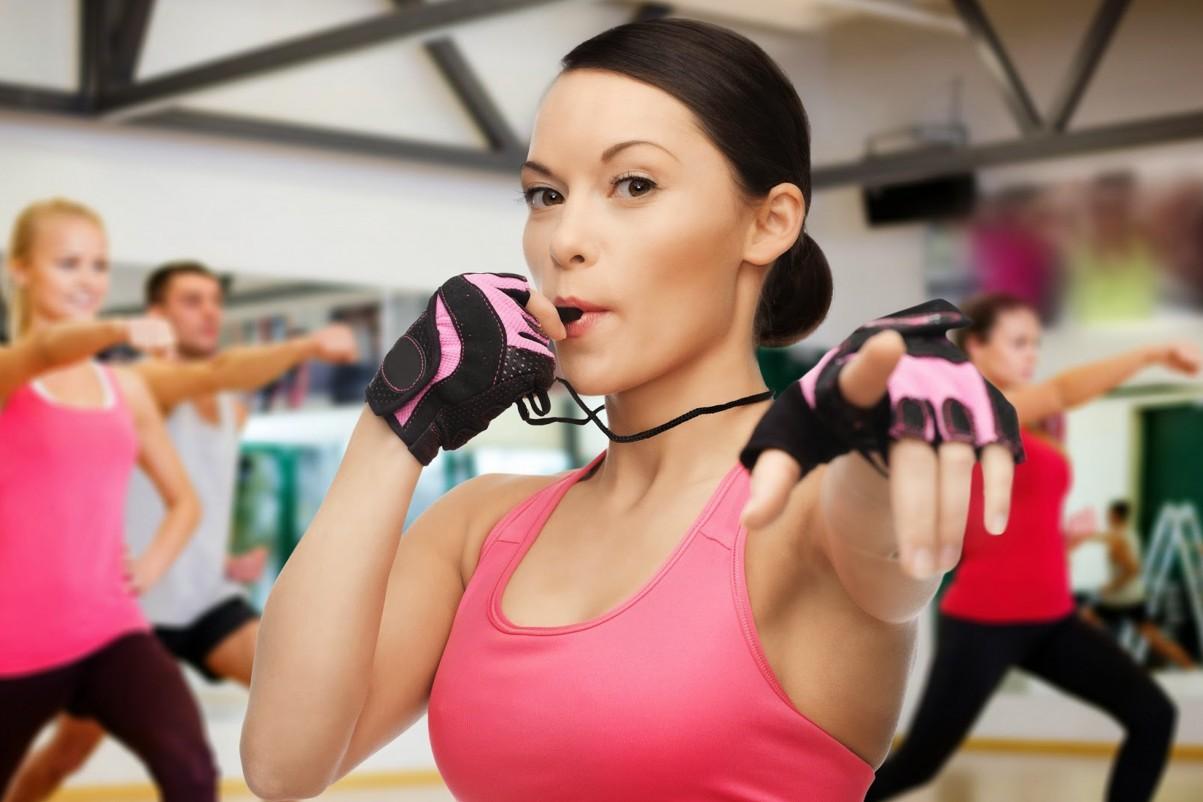 Фитнес инструктора картинки