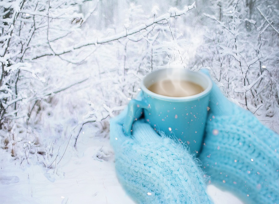 добрые картинки теплые морозы поэтому