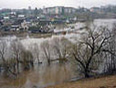 Массовое вскрытие рек Могилевщины ото льда ожидается с 25 марта по 7 апреля